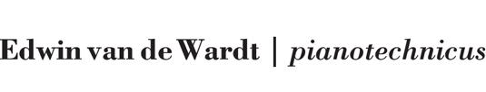 Edwin vd Wardt | pianotechnicus